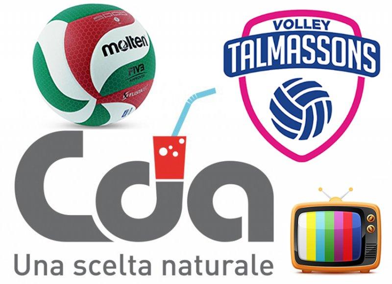 CDA Talmassons vs Club Italia Crai 2a3 SINTESI