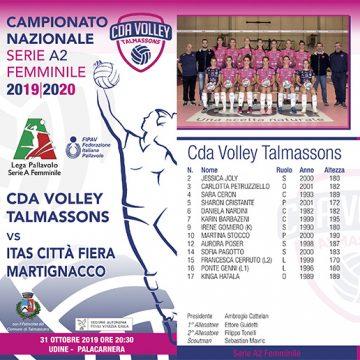 CDA Talmassons vs ITAS Città Fiera Martignacco