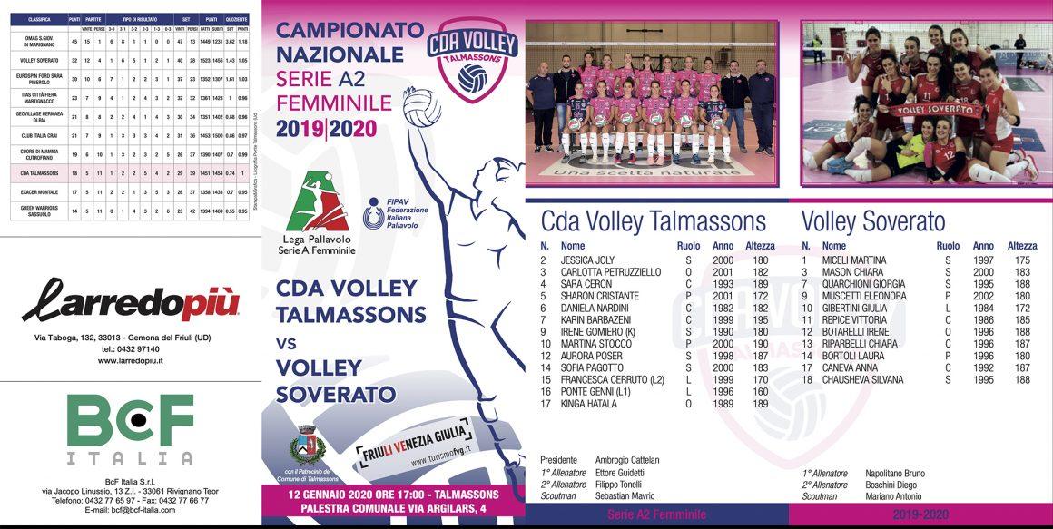 CDA Talmassons vs Volley Soverato