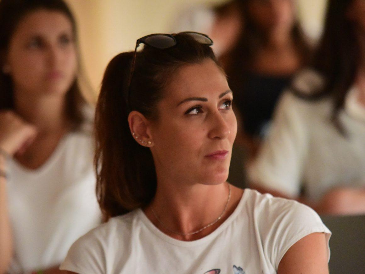 Le prime impressioni del Capitano Valentina Tirozzi