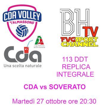 CDA vs Soverato su HB TV