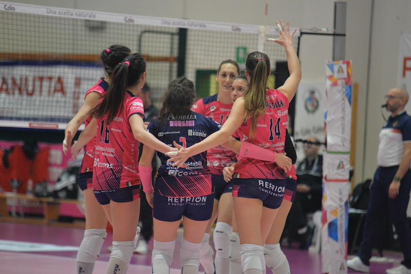 Volley Soverato vs Cda Talmassons 3a1