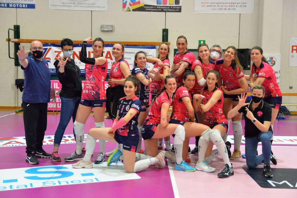 CDA Talmassons vs Futura Volley Giovani Busto Arsizio 3a0