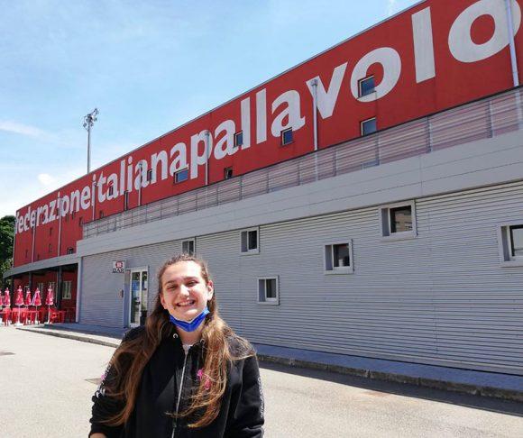 Rebecca Feruglio al terzo stage di Qualificazione Nazionale Femminile 2021