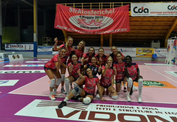 CDA Talmassons vs Anthea Vicenza 3a0
